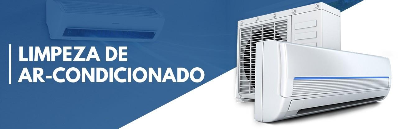 Limpeza de ar-condicionado